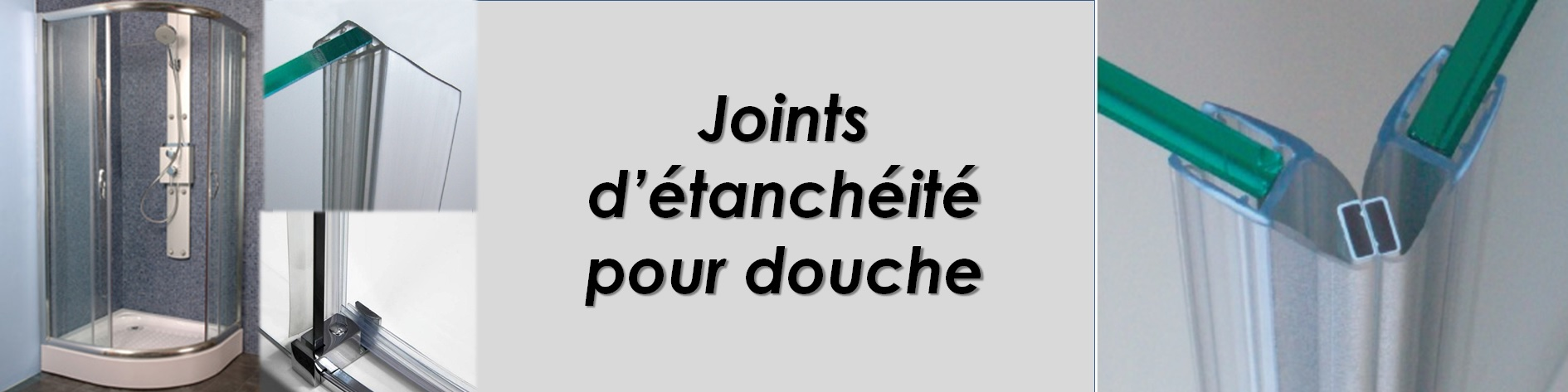 Joints tanch it joint de douche joint de porte de for Joint douche porte